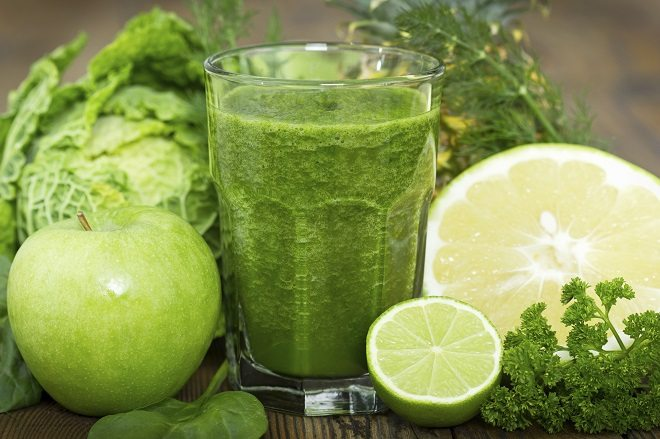Receita: Suco verde energizante