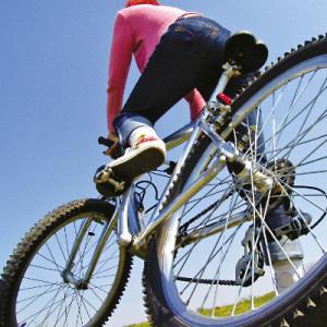 As vantagens de pedalar