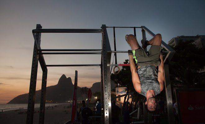 Academia ao ar livre será inaugurada no Rio de Janeiro
