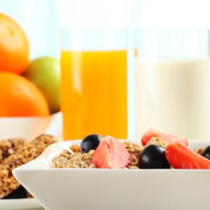 Ingredientes para um café da manhã mais saudável