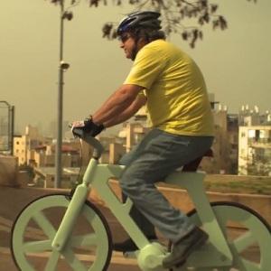 Bicicletas sustentáveis: conheça a bike de papelão