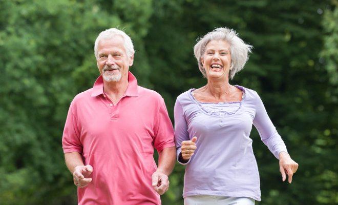 benefícios da corrida para idosos