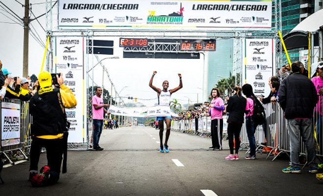 Bata seu recorde pessoal na Maratona de Porto Alegre