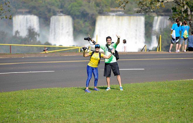 Maratona de Foz (PR), corrida no cartão postal