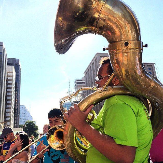 Inauguração ciclovia Avenida Paulista