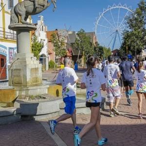 Hopi Hari Run to Fun reúne 1500 pessoas de várias idades