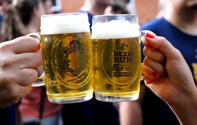 Corrida, música e cerveja, em Taubaté (SP)