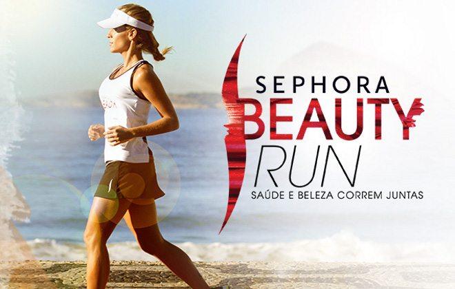 Sephora Beauty Run: Andrea Santa Rosa dá dicas de como se preparar para o dia da corrida