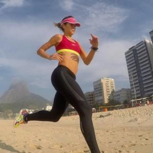 Criadora do site Cozinha Fit encontrou motivação na corrida para superar doença