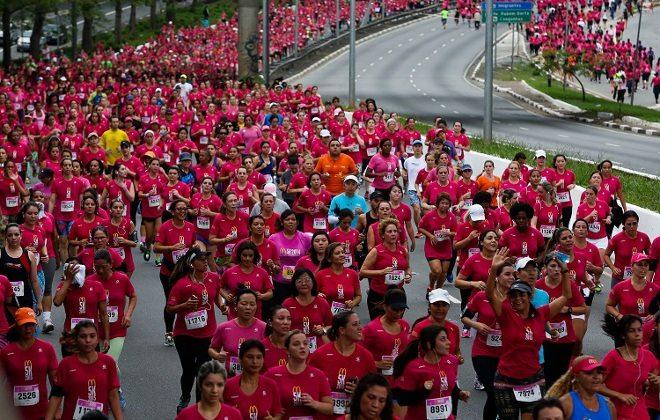Mc Donald's 5K agita mais de 25 mil mulheres