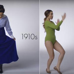 Vídeo mostra a evolução da moda fitness em 100 anos