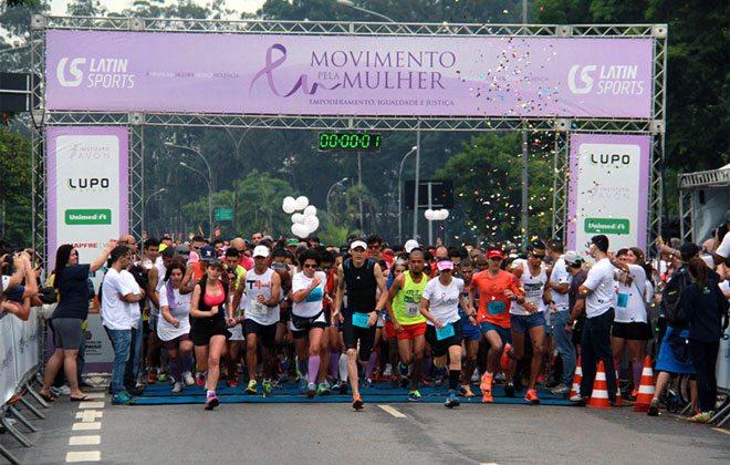 São Paulo recebe a 2ª Corrida Movimento Pela Mulher