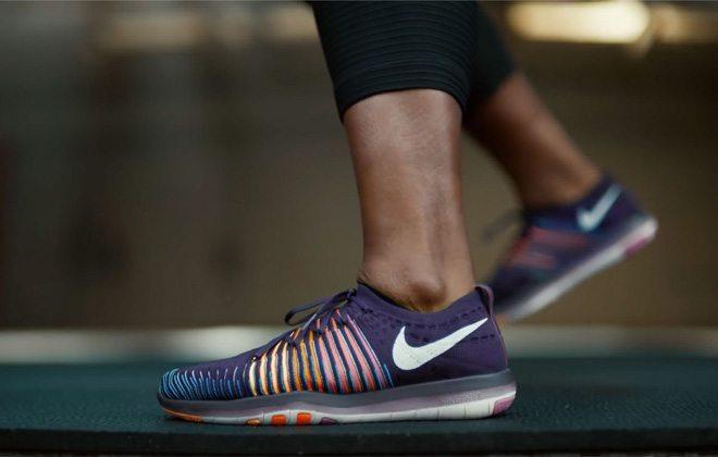 Nike cria sola que se expande junto com o pé