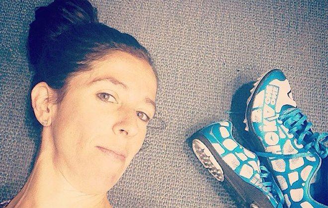 Corredora americana surpreende com foto de seu corpo após gravidez