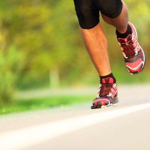 A importância dos pés para a corrida