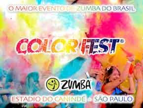 Aulão de Zumba: Zumba Color Fest 2017