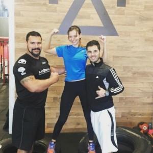 Desafios físicos: Atriz conta como se preparou para viver uma atleta