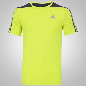 Camiseta com Proteção Solar Adidas Poliamida