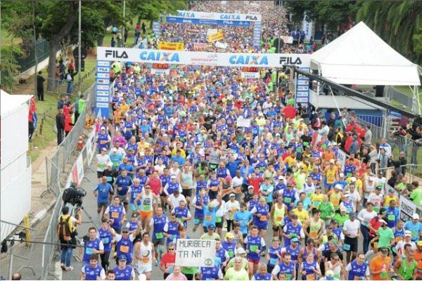 Corrida: 23ª Maratona Internacional de São Paulo