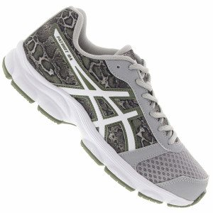 Tênis Asics animal print