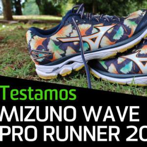 Teste: novo Wave Prorunner 20 da Mizuno