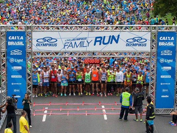 Inscrições abertas para a Olympikus Family Run