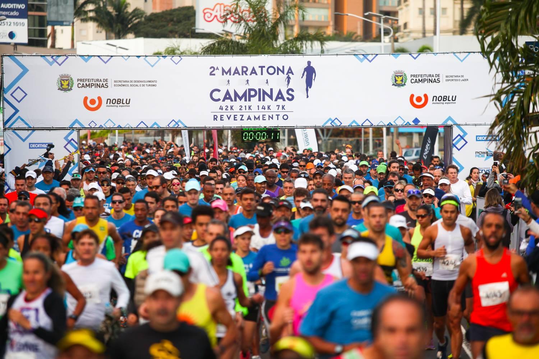Estão abertas as inscrições para a 3ª Maratona de Campinas