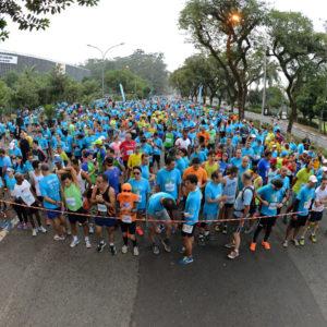 Correndo por uma causa nobre: corrida e caminhada GRAACC