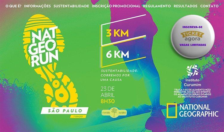 Corrida e sustentabilidade: saiba mais sobre a Nat Geo Run