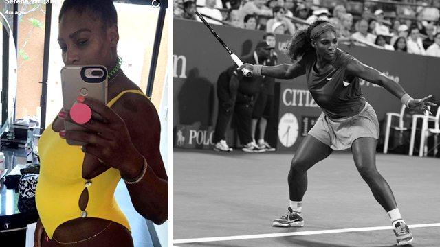 Serena Williams grávida! Até quando praticar esportes durante a gravidez?