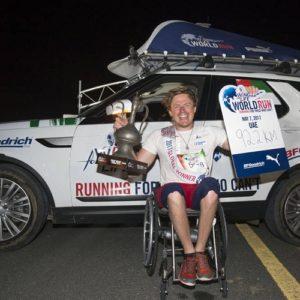 Ex-atleta paralímpico vence quarta edição da Wings For Life World Run
