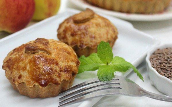 torta de maçã zero açúcar