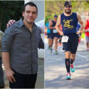 Antes e depois: conheça a história de Maggayver Grecco com a corrida