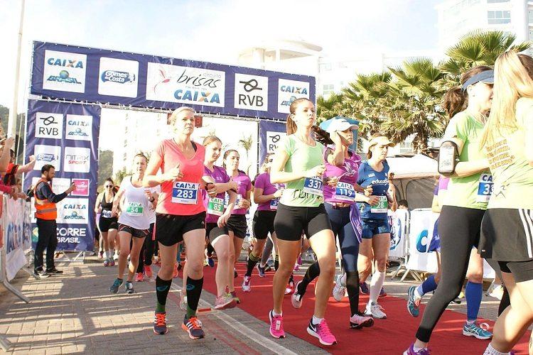 Circuito Brisas incentiva mulheres a praticarem corridas de rua